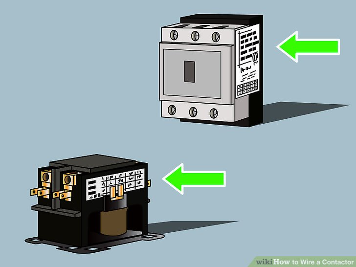 110 volt wiring diagram lpg ford how to wire a contactor 8 steps with pictures wikihow image titled step 1