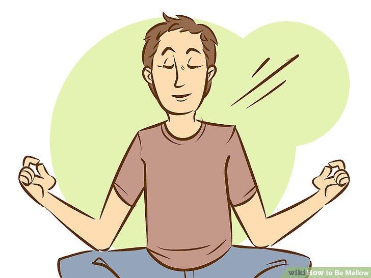 Meditieren.