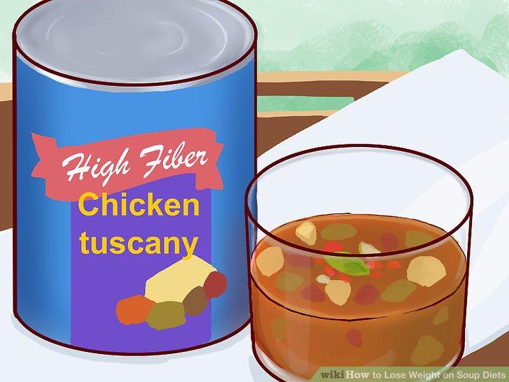 Wählen Sie eine Suppe mit mindestens 3 g Ballaststoffen.