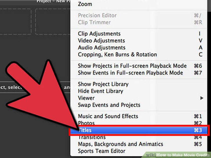 How to Make Movie Credits - Practical Information