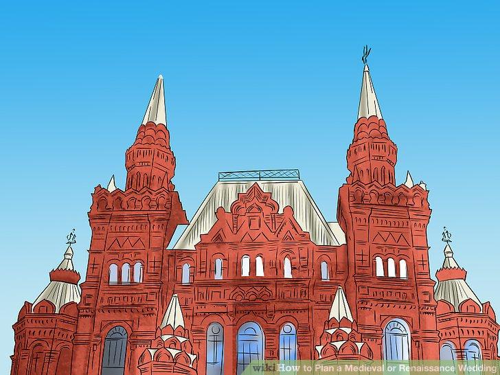 Habe die Hochzeit in einer Kathedrale.