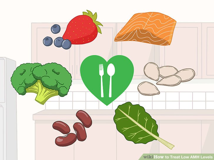 Eat a balanced diet to improve your fertility.