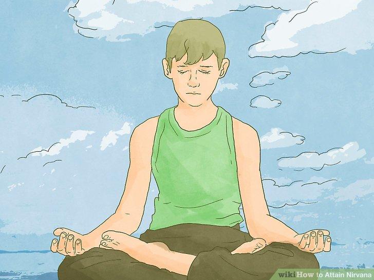 Meditiere regelmäßig.