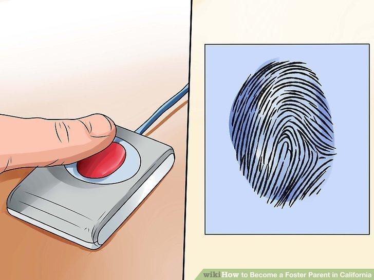 Reichen Sie Ihre Bewerbung ein und erhalten Sie einen Fingerabdruck.