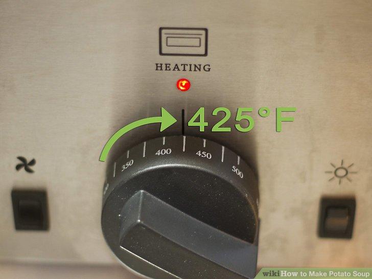 Heizen Sie Ihren Backofen auf 218 ° C vor.