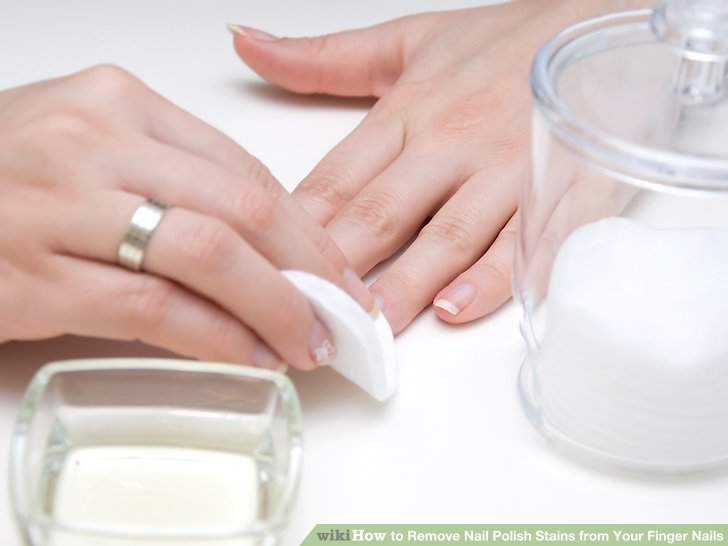 Image Led Remove Nail Polish Stains From Your Finger Nails Step 6