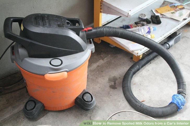 Utilize a wet vacuum.