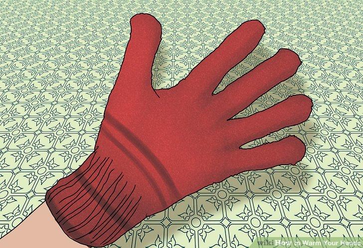 Tragen Sie warme Handschuhe.