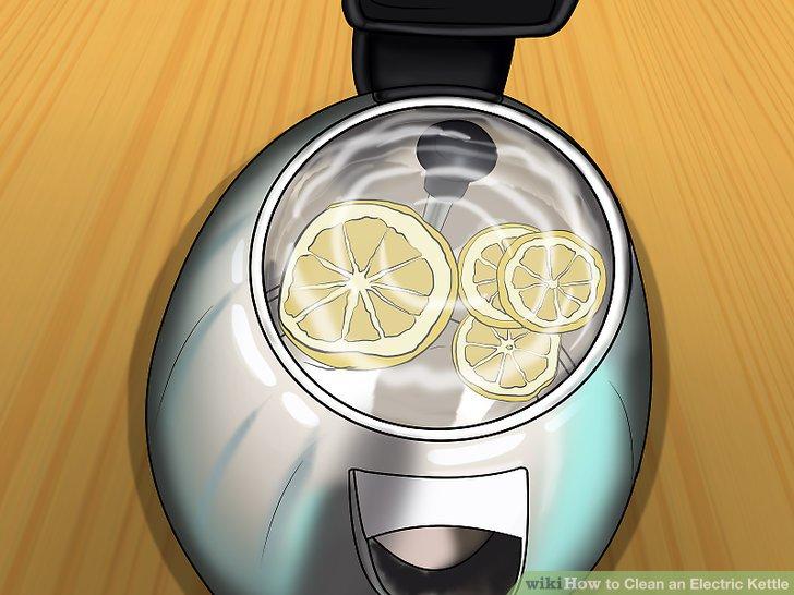 Verwenden Sie eine Zitronenlösung.
