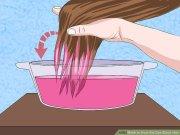 kool aid dye black hair