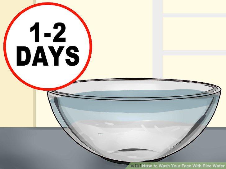 Entscheiden Sie, ob Sie Ihr eingeweichtes Reiswasser fermentieren möchten.