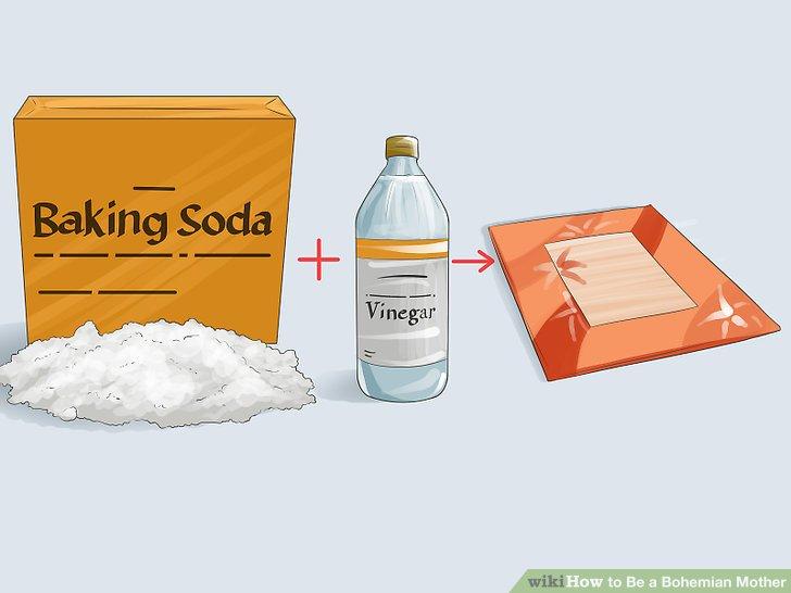 Verwenden Sie natürliche Produkte in Ihrem Zuhause.