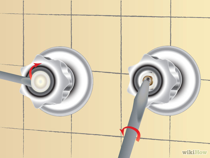 How to Fix a Leaky Shower Faucet 11 Steps with Pictures