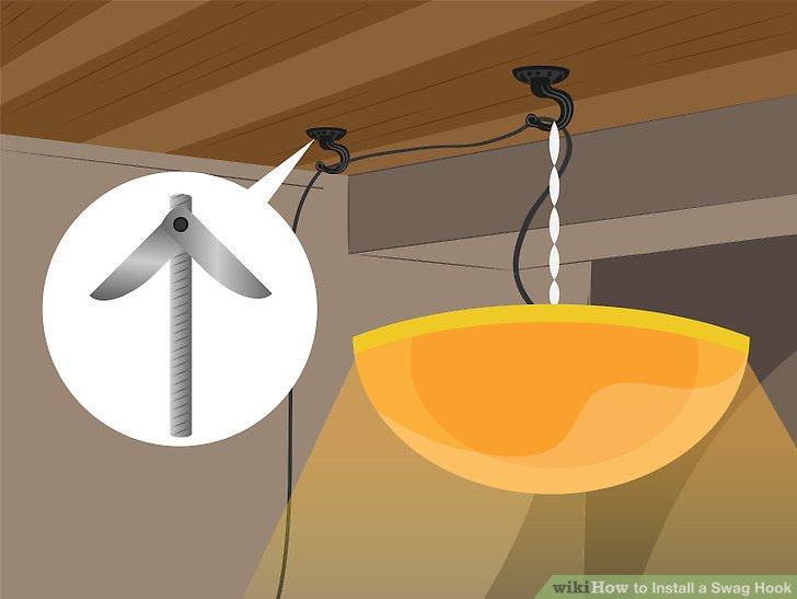 Zusätzliche Lappen, die zur Unterstützung der Kette und des Netzkabels einer Leuchte verwendet werden, können mit dem Knebelverschluss an beliebiger Stelle gestützt werden, da dieses Gewicht einen kleinen Bruchteil der Leuchte darstellt.