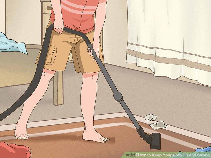Reinige das Haus.