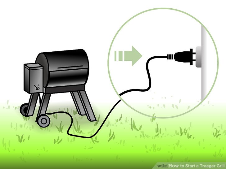 Plug your grill into an electrical outlet.
