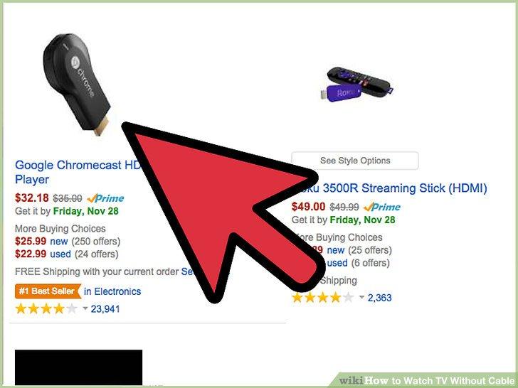 Kaufen Sie einen Google Chromecast Digital Media Streamer.