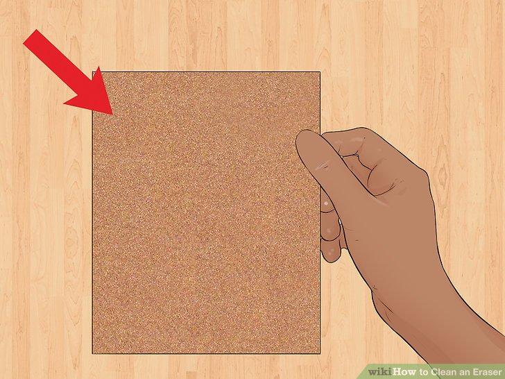 Kaufen Sie Sandpapier für Ihre Radiergummi-Reinigung.