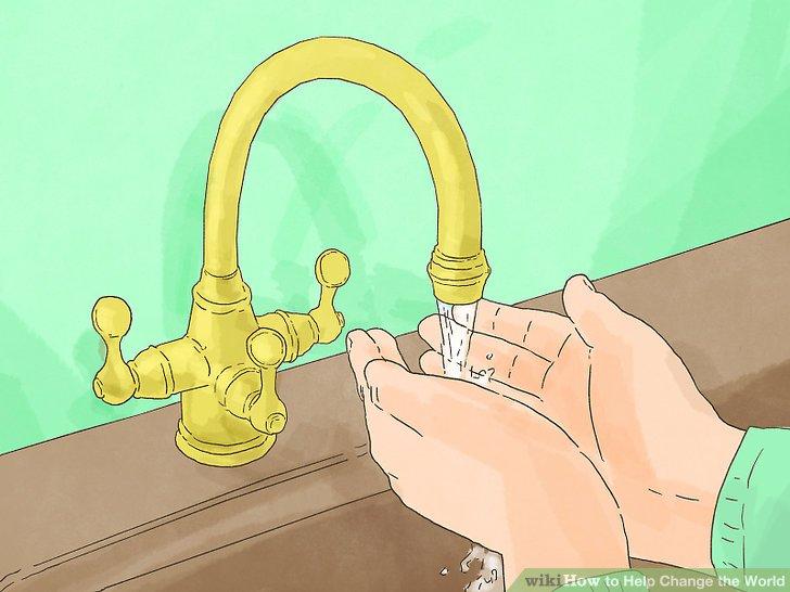 Minimieren Sie Ihren Wasserverbrauch.