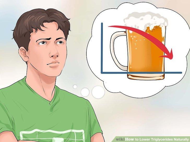 Reduzieren Sie Ihren Alkoholkonsum.