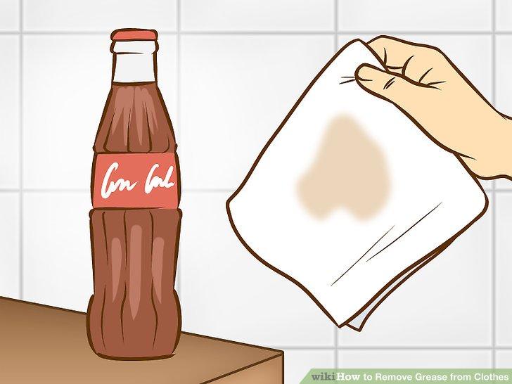 Gießen Sie Cola.