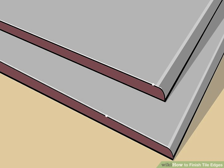 Miter Cut Tile Trim