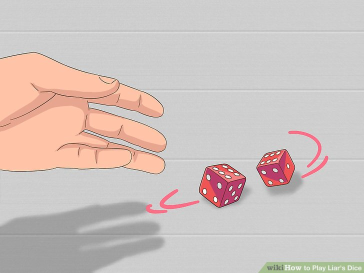 Roll 2 dice to determine which player will go first.