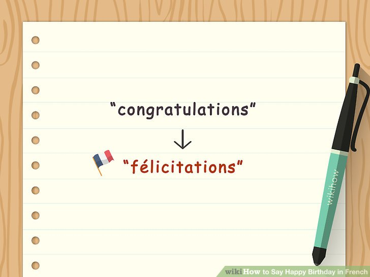 "State ""Félicitations."
