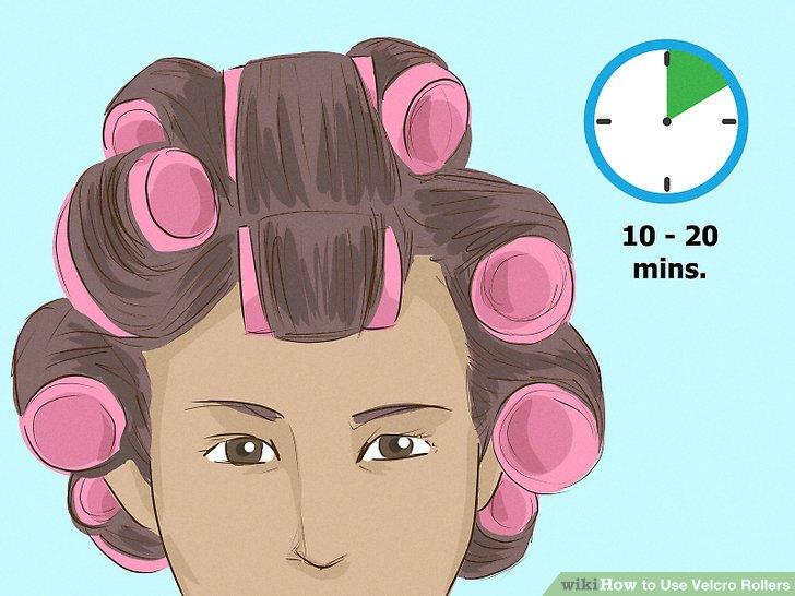 Zähme dein krauses Haar mit Klettverschlüssen.