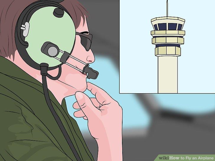 Holen Sie sich mit dem Kommunikationsradio Landung.