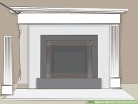 How to Remove a Fireplace Insert (with Pictures) - wikiHow