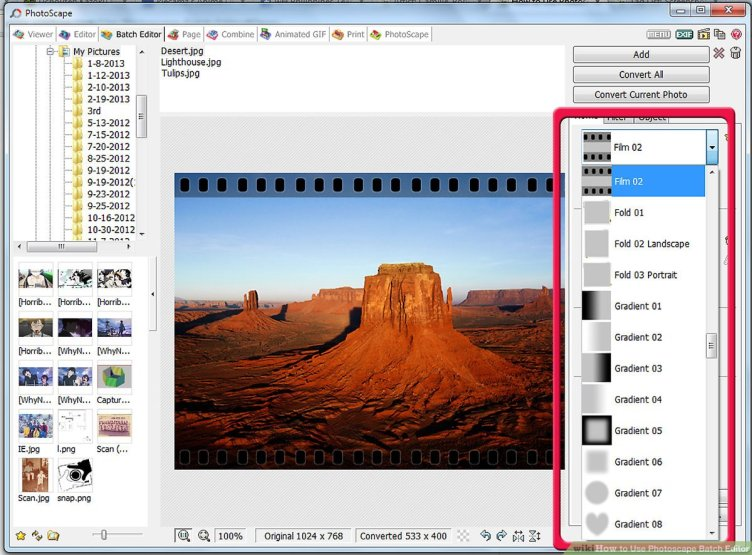 How to Use Photoscape Batch Editor: 5 Steps (with Pictures)
