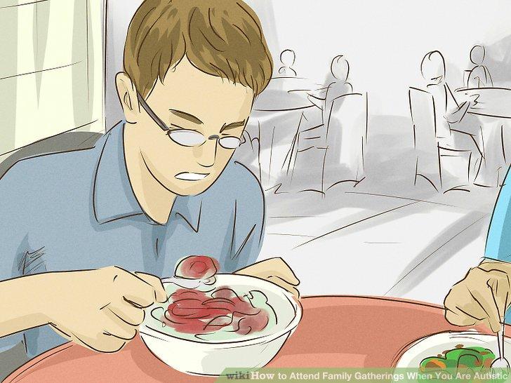Bereiten Sie sich auf die Essenszeiten vor.