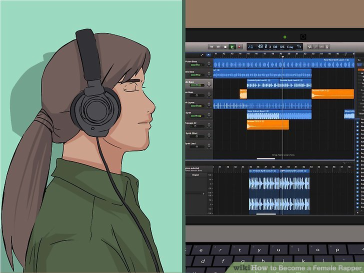 Find your beat with an audio loop.