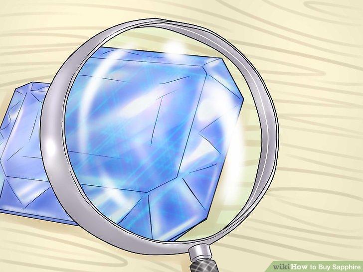 Erwarten Sie mehr Einschlüsse mit blauen Saphiren.