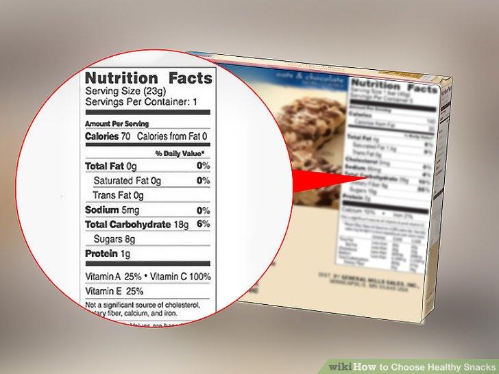 Lesen und vergleichen Sie die Etiketten.