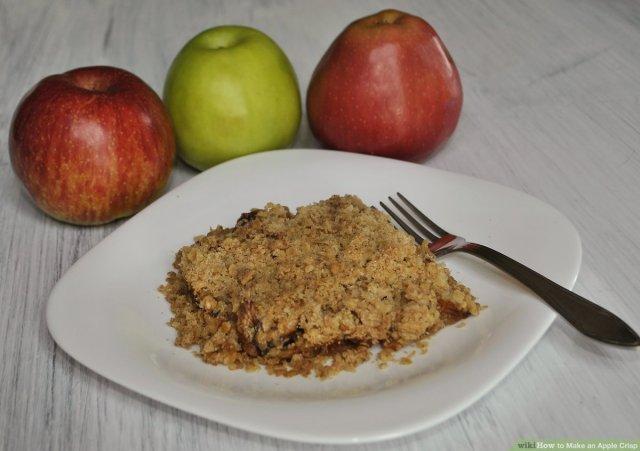 How to Make an Apple Crisp