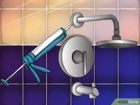 quickly repair bathroom shower tiles