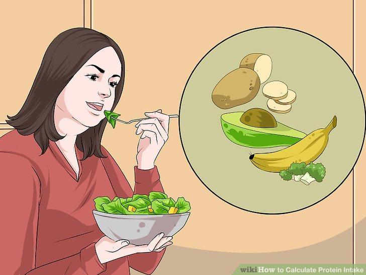 Essen Sie viel Obst und Gemüse.