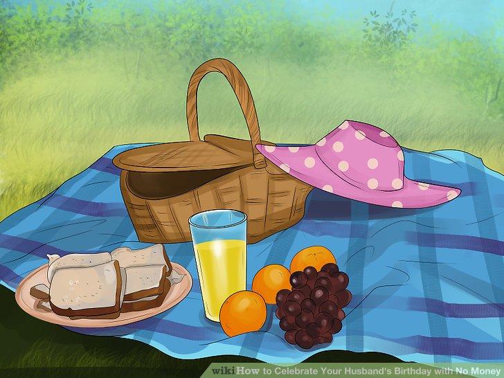 Planen Sie ein Potluck-Picknick mit den Freunden Ihres Mannes.