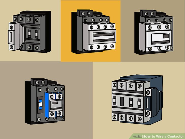 Single Phase Contactor Wiring Diagram Pictures