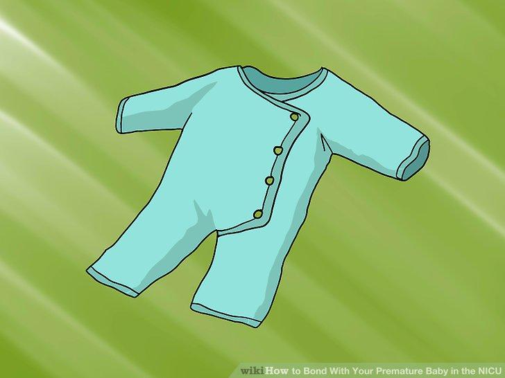 Kleiden Sie Ihr Baby in ein sauberes Kleid, wenn es eine akzeptable Option für Sie ist.