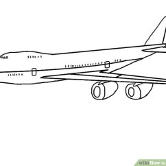 Paper Airplane Diagram Of Parts Robertshaw Thermostat Wiring 4 Ways To Draw A Plane Wikihow Image Titled Step 9