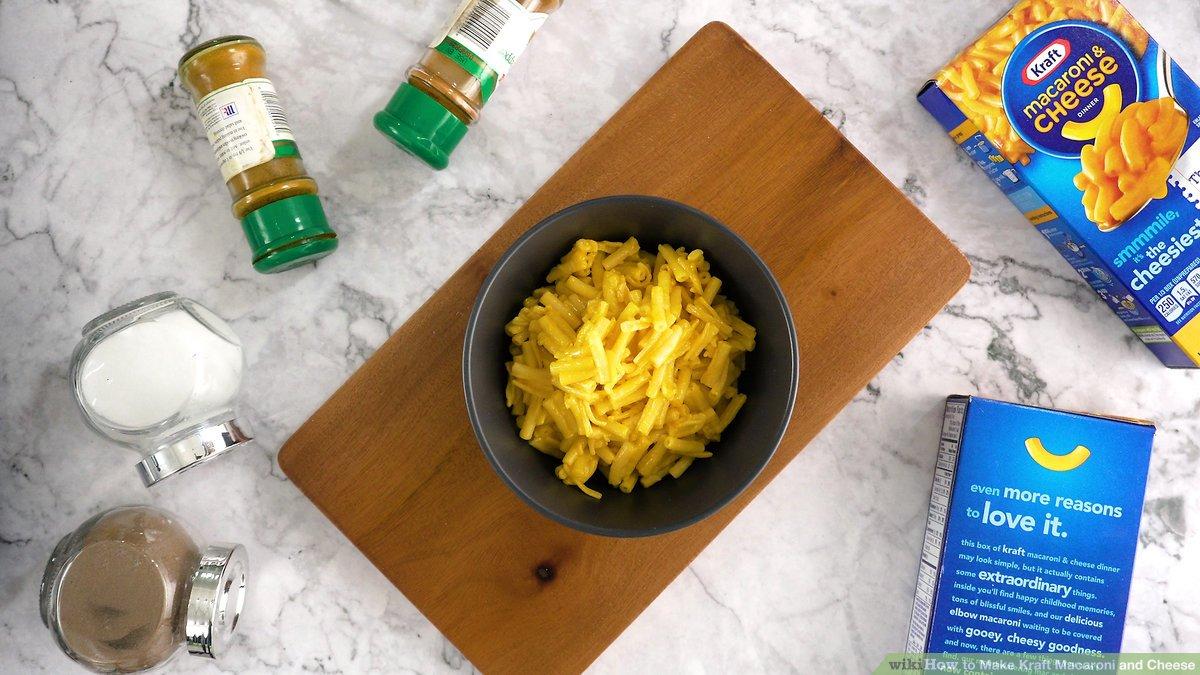 how to make kraft macaroni and cheese