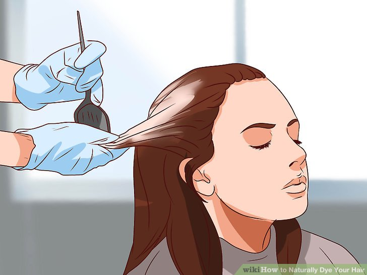 6 Ways To Naturally Dye Your Hair WikiHow