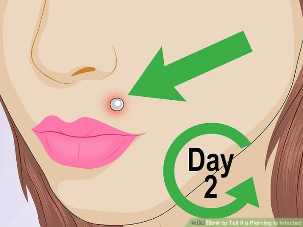 how to tell if your piercing is infected