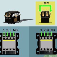 Contactor Coil Wiring Diagram Animal Cell Membrane Labeled How To Wire A Contactor: 8 Steps (with Pictures) - Wikihow