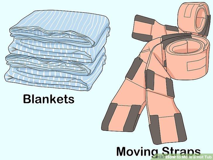 Stellen Sie sicher, dass Sie bewegliche Riemen und Decken haben.