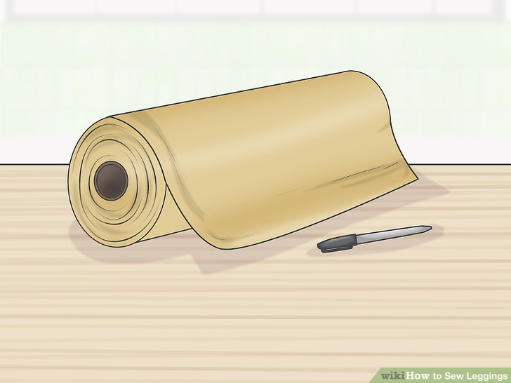 Collect paper and a marker for making a pattern.