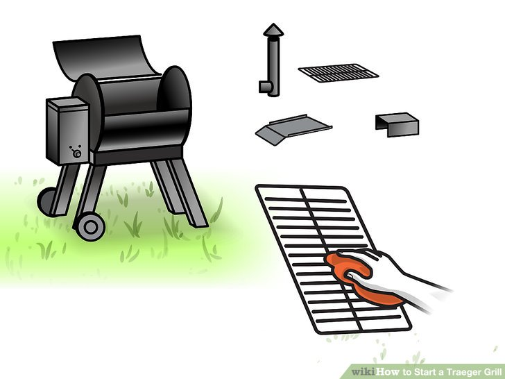 Clean the grill once it cools down.